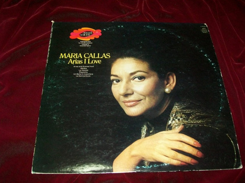 maria callas arias i love disco lp vinil usa ° opera soprano