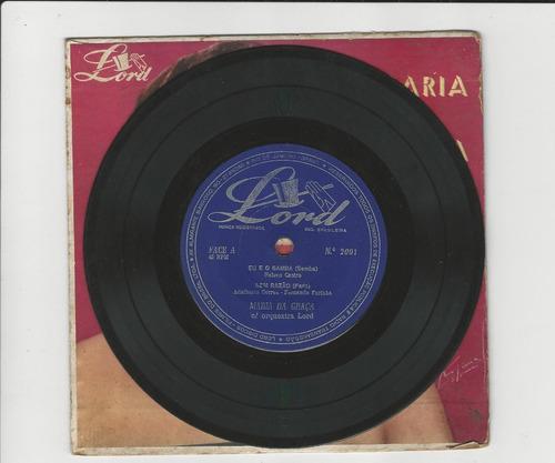 maria da graça - eu e o samba - compacto ep 14