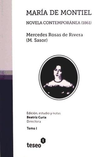 maria de montiel(libro )