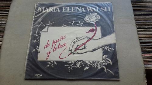 maria elena walsh de punto y letra
