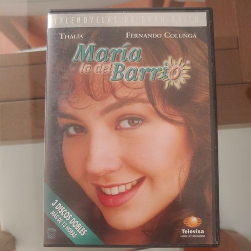 maria la del barrio dvd importado 3 discos doble cara thalia
