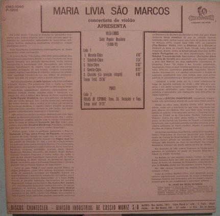 maria livia são marcos - suíte popular bras/folias 1966.