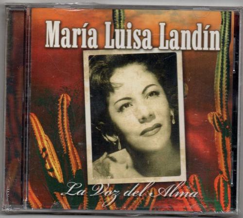 maria luisa landin. la voz del alma. cd original usado a8