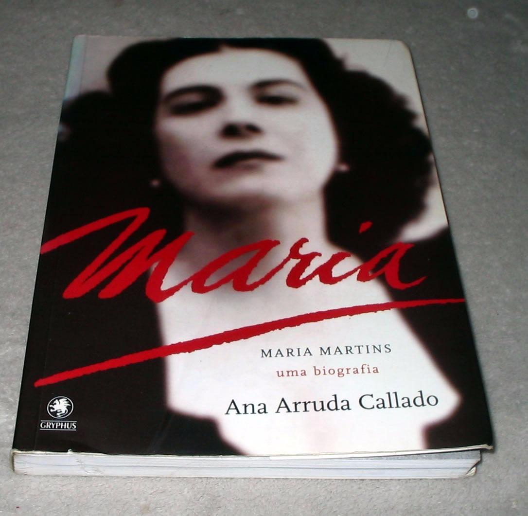 Resultado de imagem para biografia de maria martins