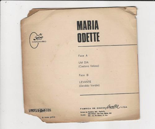 maria odete - um dia/ levante - compacto ep 21