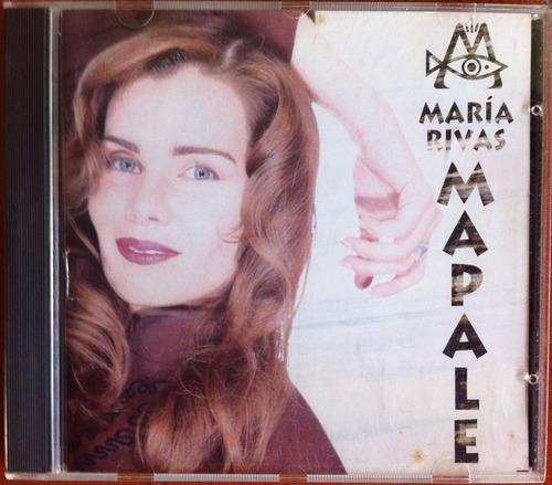maria rivas. mapale. cd original, usado