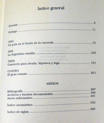 maría seoane el saqueo de la argentina 2003 no envio