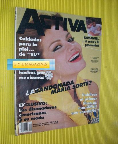 maria sorte revista activa 1985