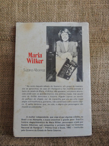 maria wilker - suzana albornoz - 1983 - fcc edições