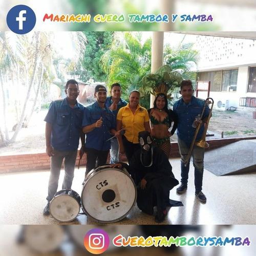 mariachi costeño cuero tambor y samba