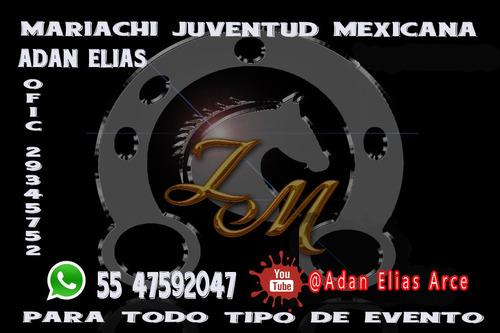 mariachi en ecatepec y ciudad de mexico