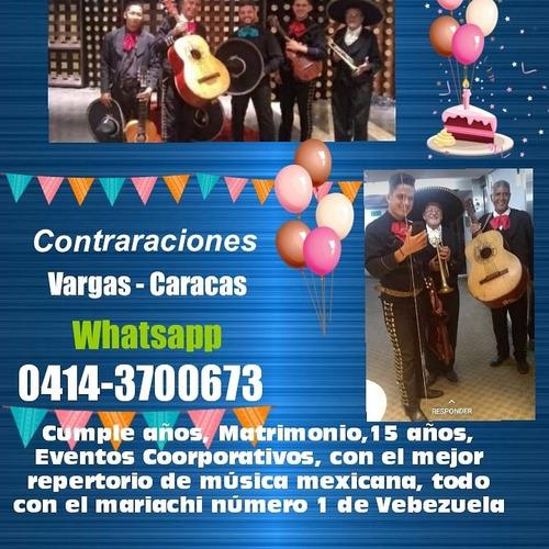 mariachi fiesta show para vargas y caracas