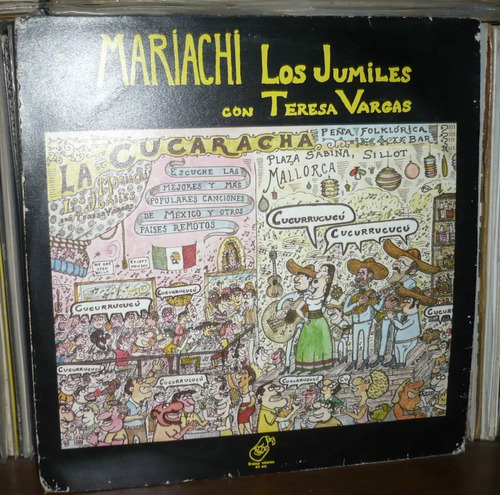 mariachi los juniles lp con teresa vargas