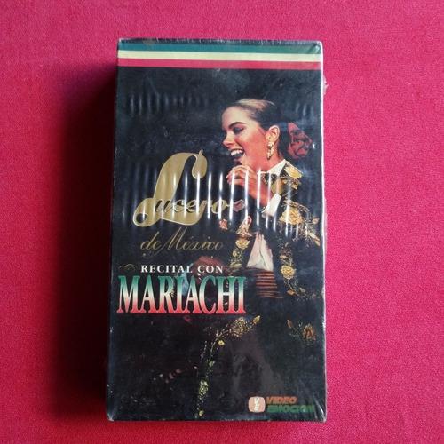 mariachi lucero de méxico recital mariachi vhs casette nuevo