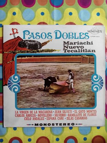 mariachi nuevo tecalitlan lp  pasos dobles  1971