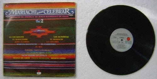 mariachi para celebrar / vol. 2  1 disco lp vinilo