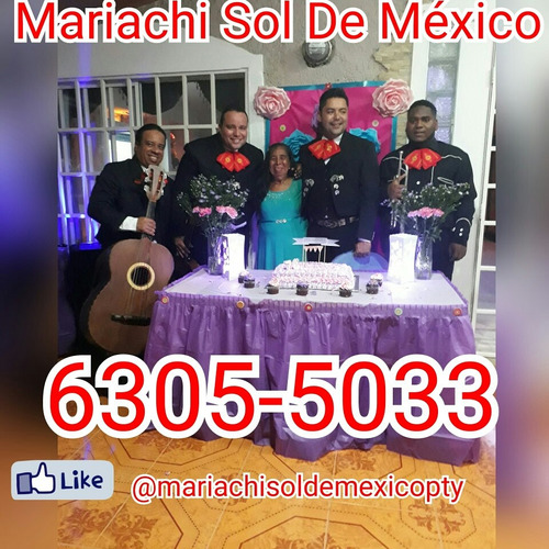 mariachi serenata panamá oeste y panamá