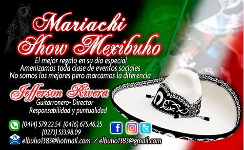 mariachi show mexibuho de barinas