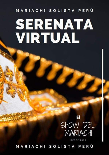 mariachi virtual y presencial