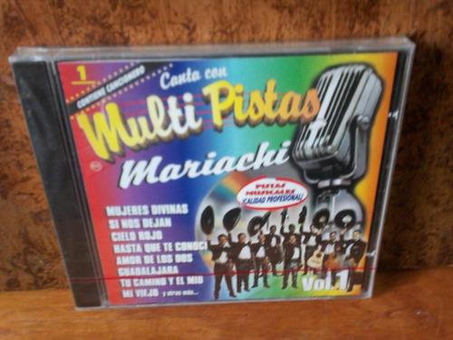 mariachi. vol. 1. multi pistas. cd.