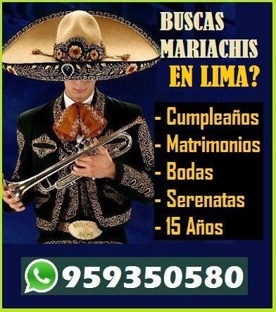 mariachis 100 soles