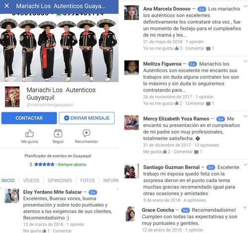 mariachis de guayaquil, jovenes alegres y responsables. info
