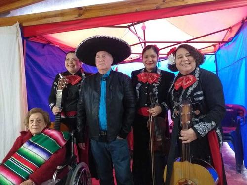 mariachis de mujeres a domicilio en santiago