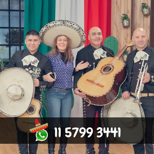 mariachis show a domicilio