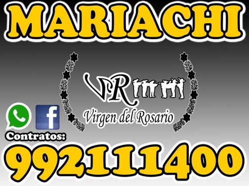 mariachis virgen del rosario