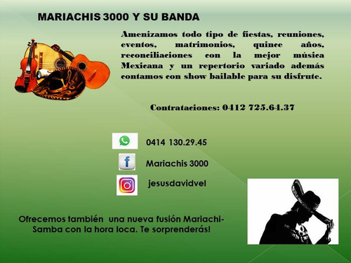 mariachis3000 & su banda.