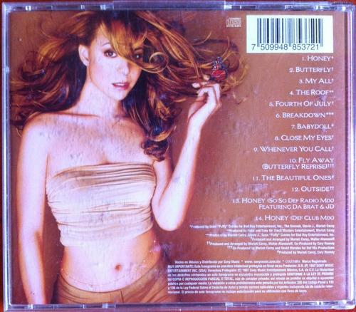 mariah carey. butterfly. cd original, usado