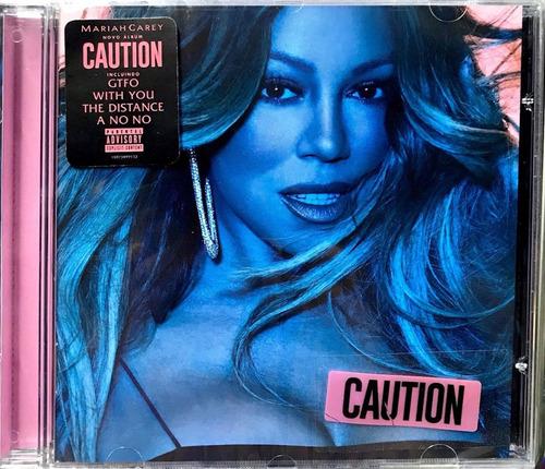 mariah carey - caution (cd) nacional lacrado