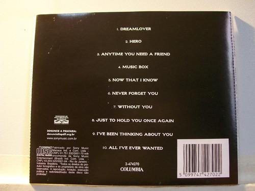 mariah carey, music box, cd original raro