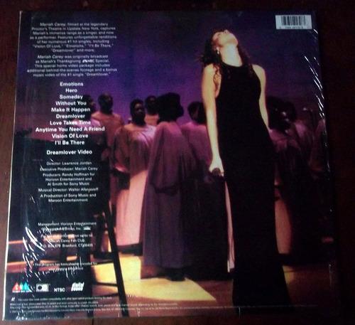 mariah carey proctors theater 1993 laserdisc usa en la plata