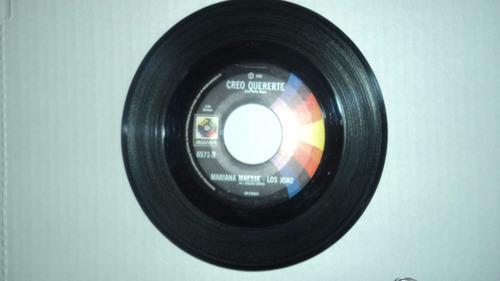 mariana maesse - los joao 45 rpm de coleccion musart