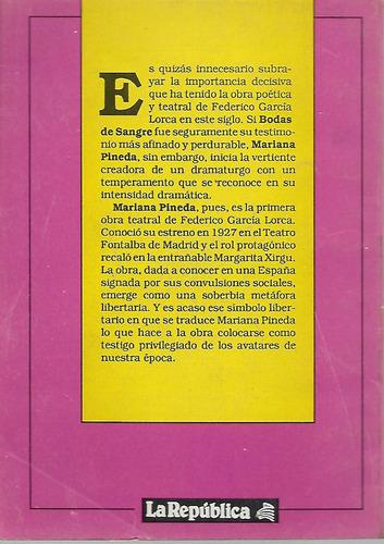 mariana pineda - mariana pineda - teatro clasico