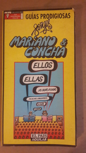 mariano & concha, forges, 1997, humor, 164 pag