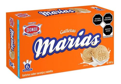 marías  540g.- galletas dondé