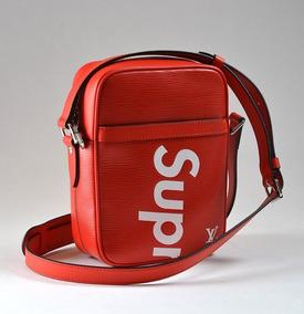 en venta mas bajo precio precios de liquidación Mariconera Louis Vuitton Supreme Red Unisex De Lujo