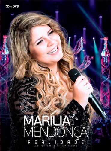 marilia mendonça realidade ao vivo em manaus dvd+cd