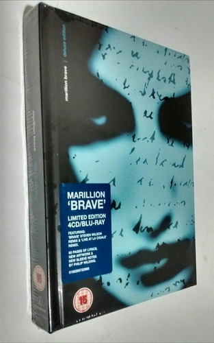 marillion-brave (deluxe edition) cd + blu-ray, box-set