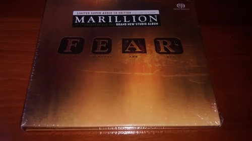 marillion fear sacd edición limitada