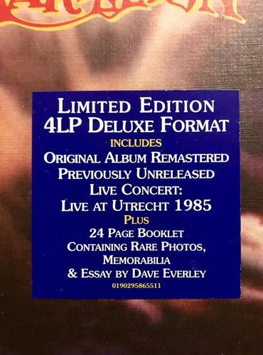marillion -misplaced childhood deluxe 4 lp box set 180 gr