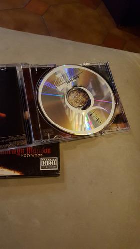 marilyn manson - holywood - original usado- cd digi