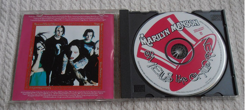 marilyn manson - smells like children ( c d ed. u s a)