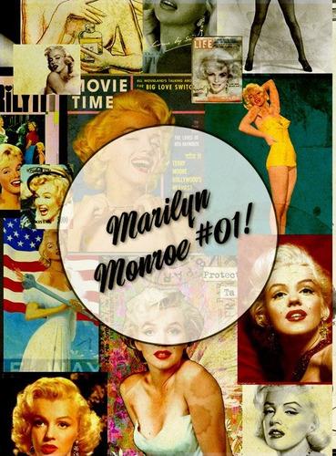 marilyn monroe #01! lámina decoupage autoadhesiva 30 x 42 cm