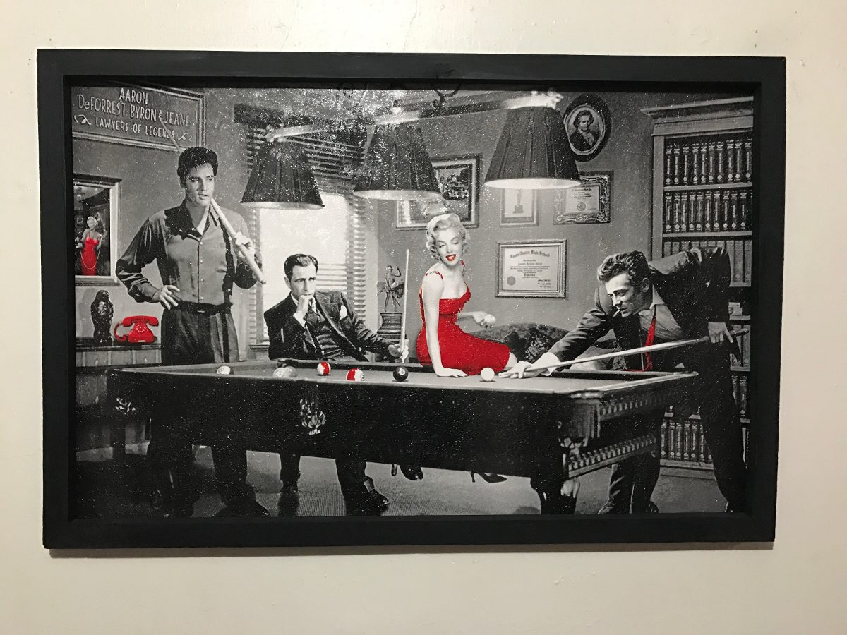Marilyn Monroe Elvis Presley James Dean Cuadro Decorativo 28500