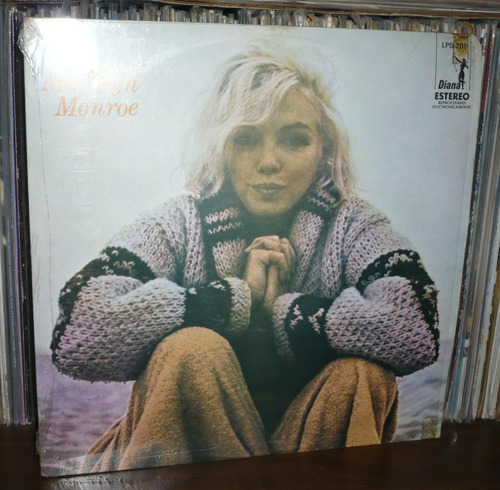 marilyn monroe lp recordando a marilyn monroe