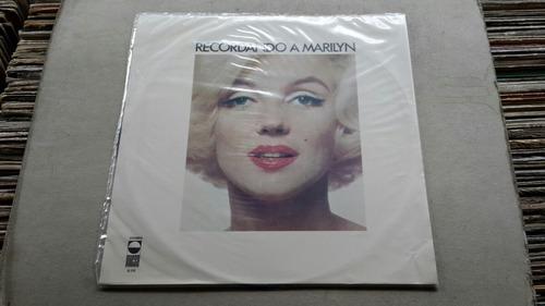 marilyn monroe recordando es un disco de vinilo
