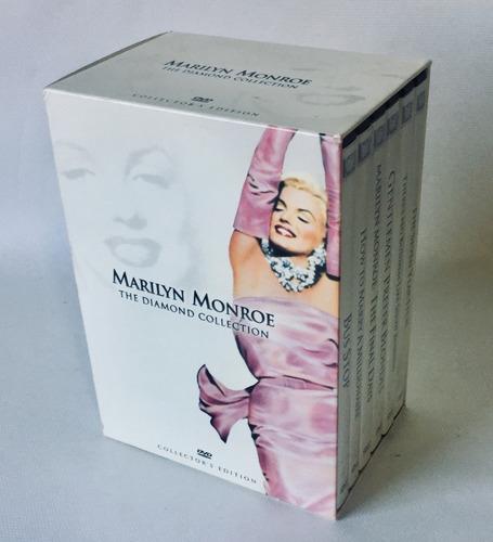 marilyn monroe - the diamond collection - 6 dvd box região 1